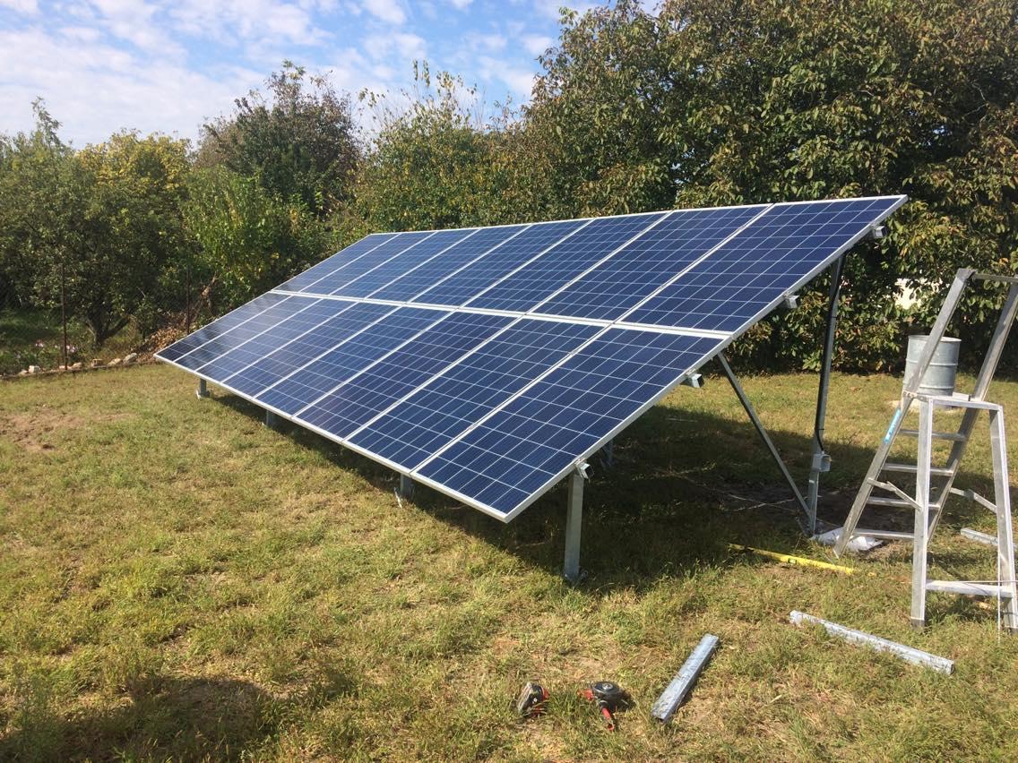 Rácalmás - 3,025KWp teljesítményű napelemes rendszer